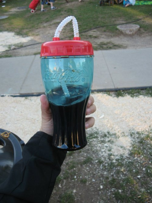 Coke at C.N.E. 2010