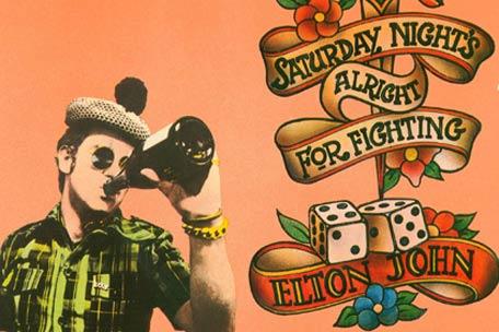 Elton John on Saturday night