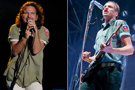 Pearl Jam and Arcade Fire