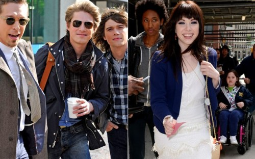 Hanson and Carly Rae Jepsen