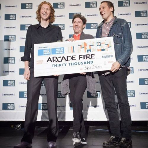Arcade Fire photo courtesy Polaris Music Prize.
