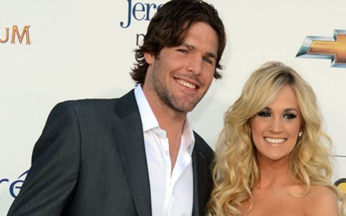 Former Ottawa Senator Mike Fisher and Carrie Underwood