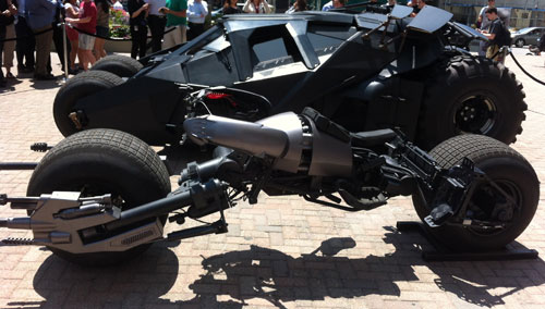 Batpod... or Batcycle... or whatever it's called