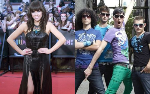 Carly Rae Jepsen and Faber Drive
