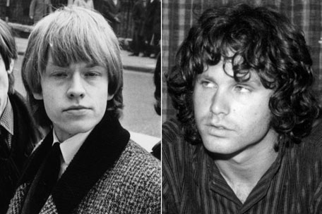 Rolling Stones' Brian Jones and The Doors' Jim Morrison