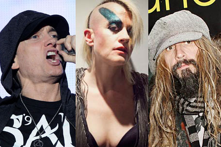 Eminem, Peaches and Rob Zombie