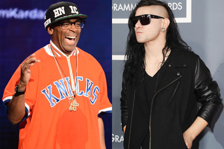 Spike Lee and Skrillex
