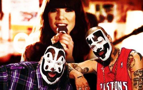 Insane Clown Posse and Carly Rae Jepsen