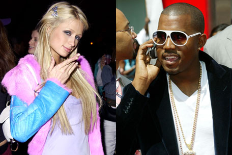 Paris Hilton and Kanye West