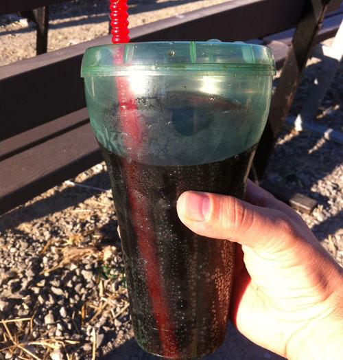 Rasberry Coke