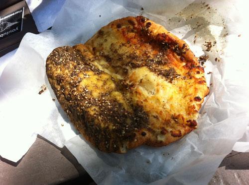 Sesame Zaatar With Cheese Pie