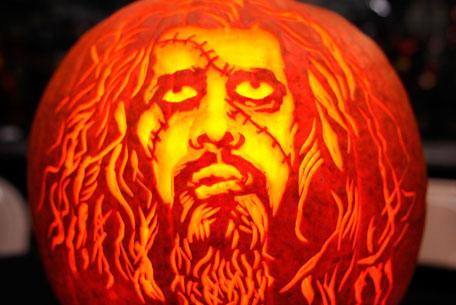 Pumpkin Rob Zombie
