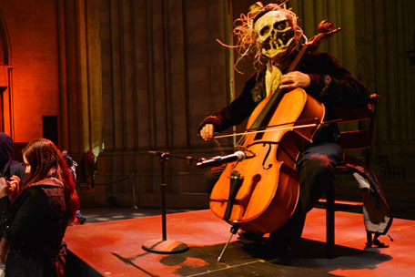 Here's a spooky cello thing