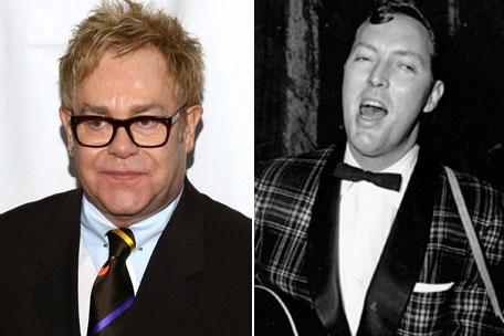 Elton John and Bill Haley