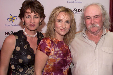 Julie Cypher, Melissa Etheridge & David Crosby