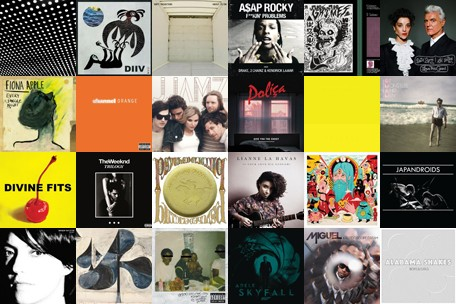 Top Album And Songs Of 2012