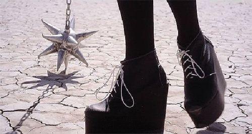 Grimes' boots