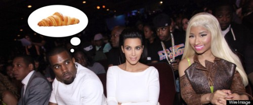 Hurry up with Kanye's damn croissants