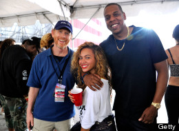 Ron Howard, Beyonce, Jay-Z