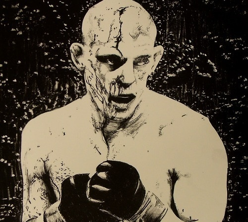 Joe Lauzon image by David Balfe
