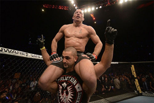Georges St-Pierre post fight