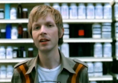 Beck from the Girl video