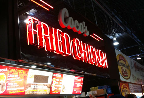 Coco's Fried Chicken. CNE 2014