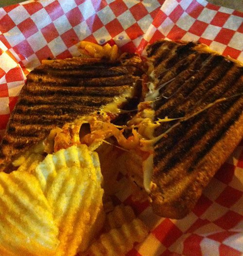 El Gordo from Chunky Cheese Gourmet Grilled Cheese. CNE 2014