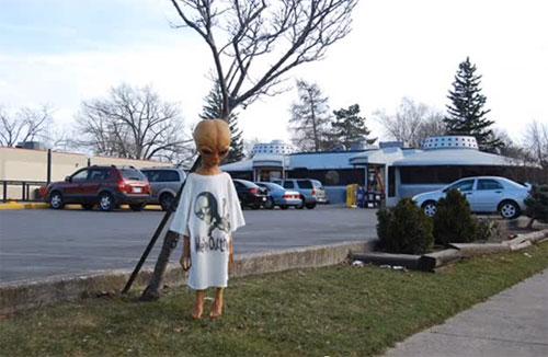 The Flying Saucer Restaurant in Niagara