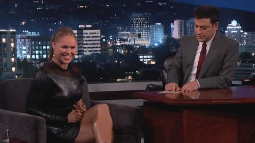 Ronda Rousey on Jimmy Kimmel