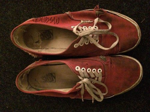 Mac DeMarco's shoes