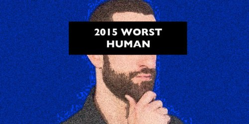 Vote to determine the worst human