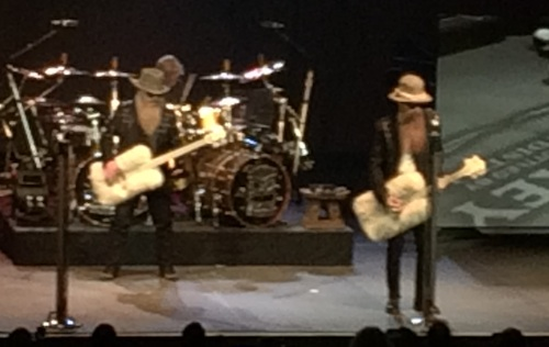 ZZ Top live in Hamilton, March 5, 2015