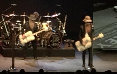 ZZ Top live in Hamilton, March 5, 2015