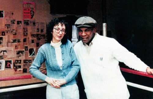 Joyce Carol Oates and Mike Tyson