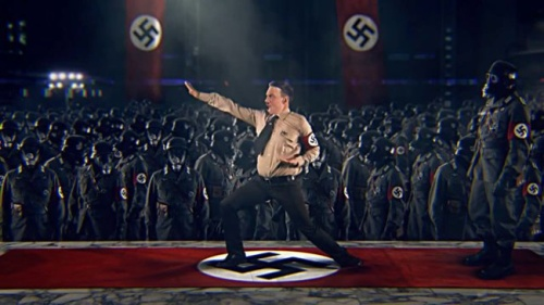 Kung Fury's villain the Kung Fuhrer.