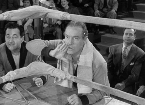Bob Hope, boxing fan