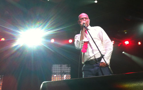 The Tragically Hip's Gord Downie performs on Canada Day 2012.