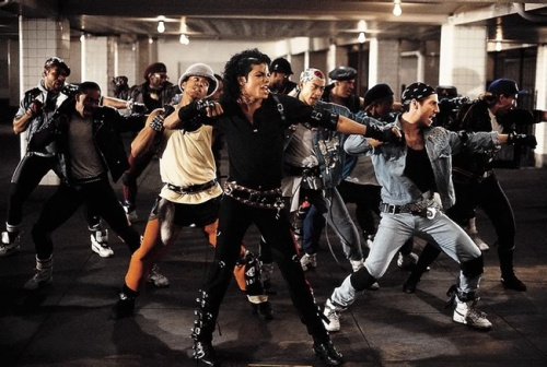 Michael Jackson dance fighting