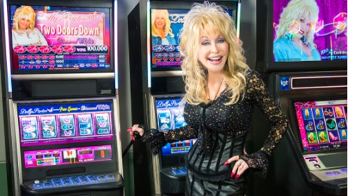 Dolly Parton's slot