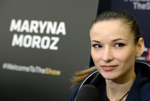 "Maryna ""The Iron Woman"" Moroz"
