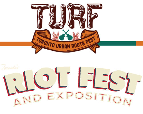 TURF and Riotfest Festivals are both in Toronto this weekend.