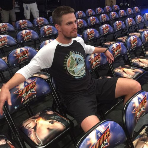 Stephen Amell vs. Stardust