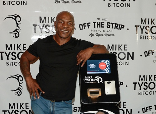 Mike Tyson's Bitcoin machine