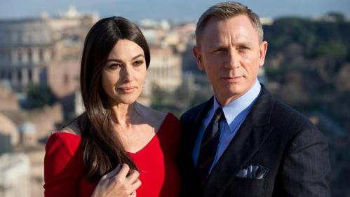 Monica Bellucci is in the latest Bond film