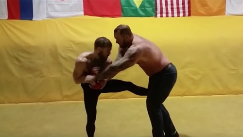 Conor McGregor vs. The Mountain