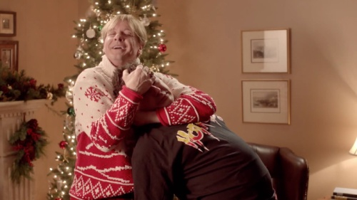 Roddy Piper in holiday mode