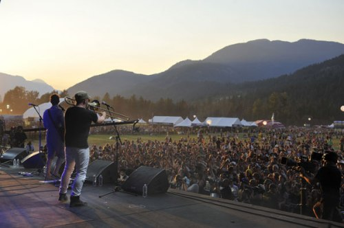 Broken Social Scene at Pemberton Music Festival