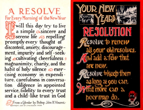 Some resolution affirmation