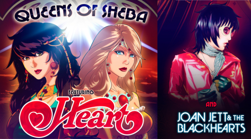 Queens Of Sheeba tour featuring Heart and Joan Jett